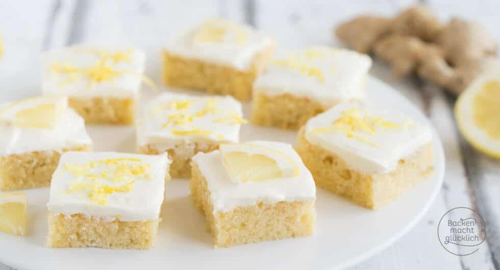 Saftiger Ingwer Zitronen Kuchen Mit Buttermilch Backen Macht Glucklich