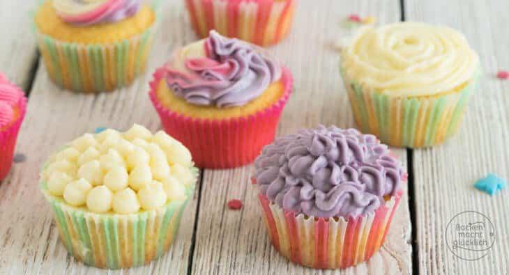 Cupcakes Grundrezept