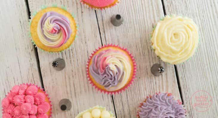 einfache saftige Cupcakes Grundrezept