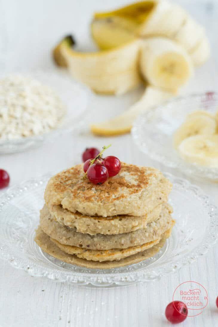 Gesunde 3 Zutaten Pancakes