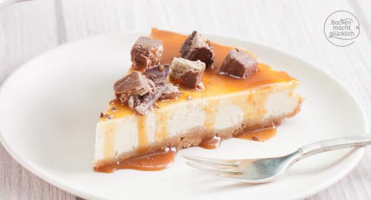 amerikanischer Karamell Cheesecake