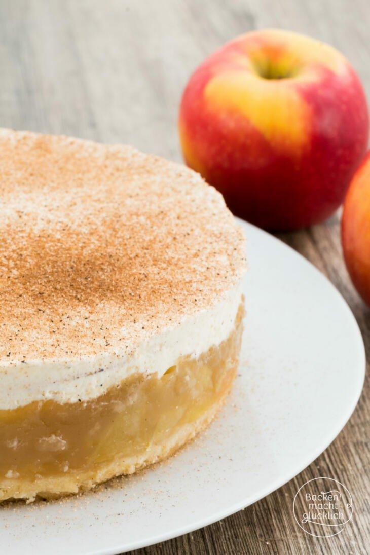 Apfeltorte Mit Sahne Und Zimt Backen Macht Glucklich