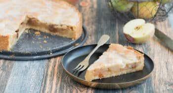 Gedeckter Apfelkuchen einfaches Rezept