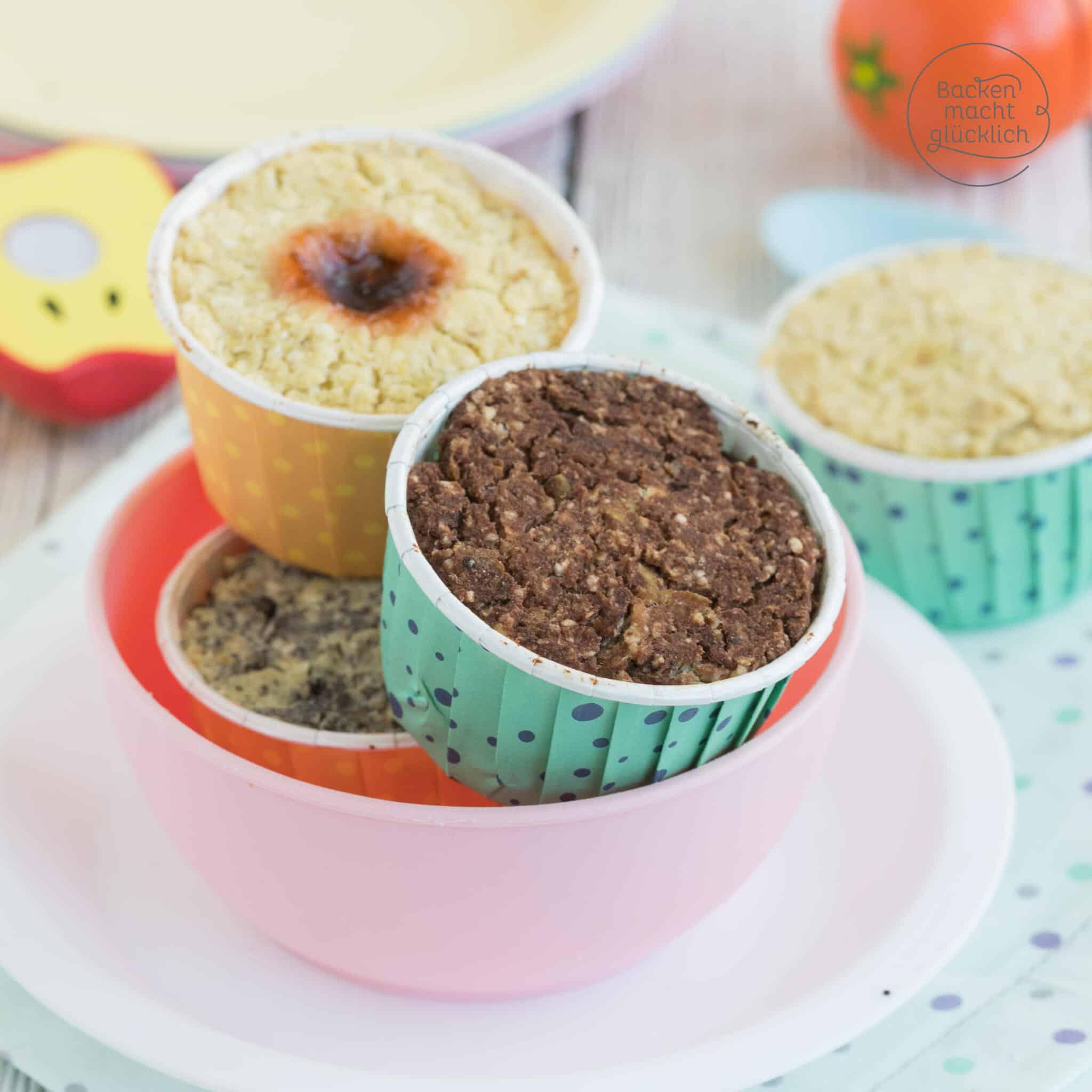 Baby Muffins ohne Zucker Ei Milch Mehl