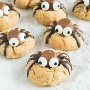 Spinnen Cookies Rezept