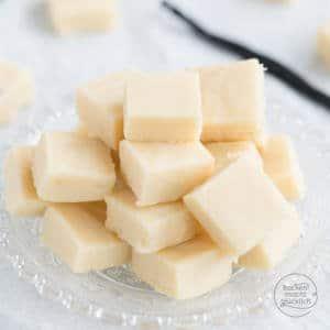 einfaches schnelles Vanille Fudge
