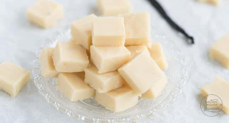 Schnelles Vanille Fudge selbermachen