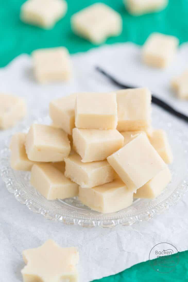 Vanille Fudge Rezept