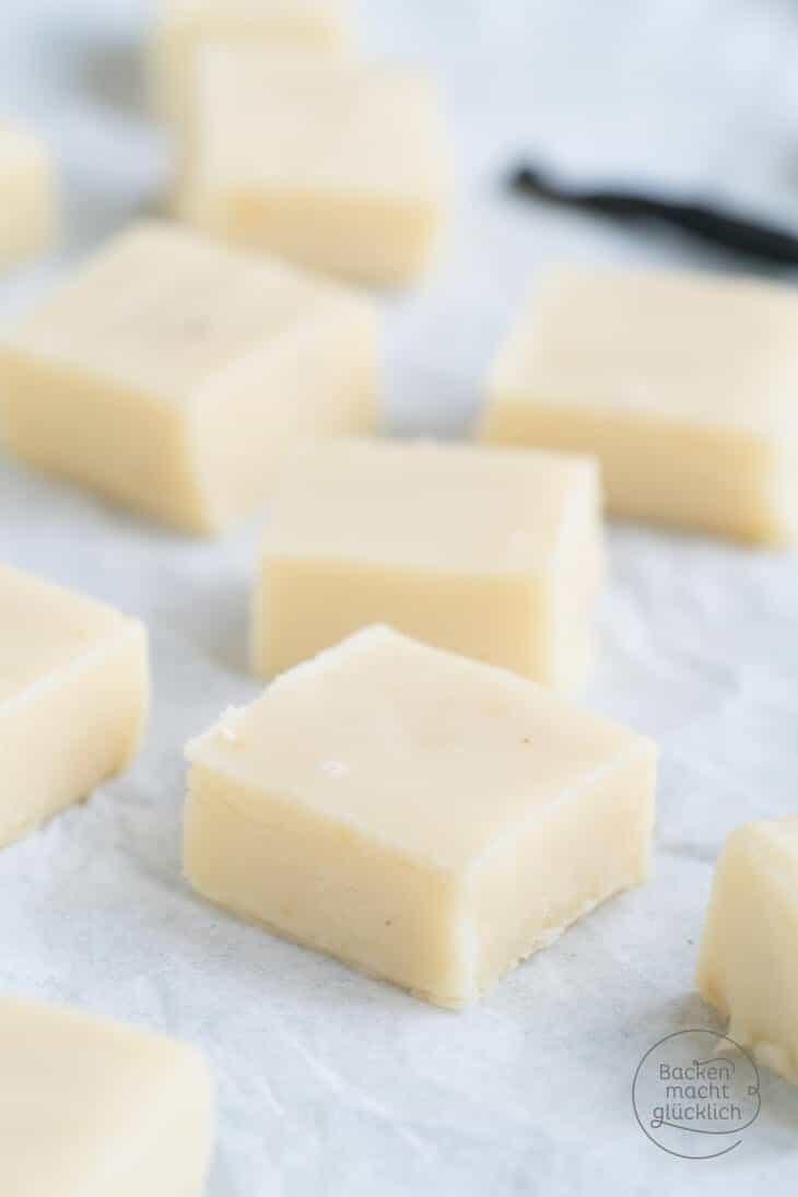 VanilleFudge schnelles Rezept