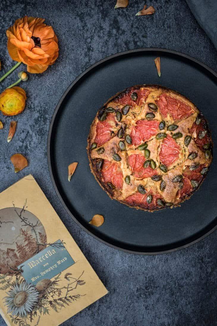 Veganer Grapefruit-Kuchen