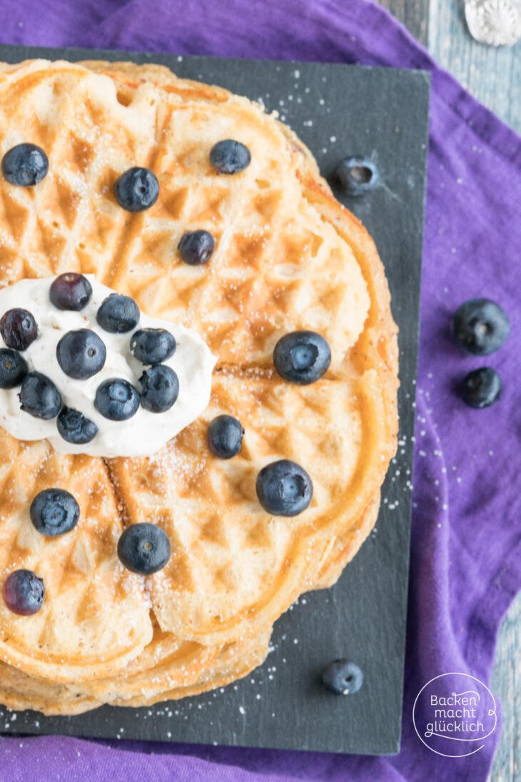 Low Carb Waffeln ohne Butter