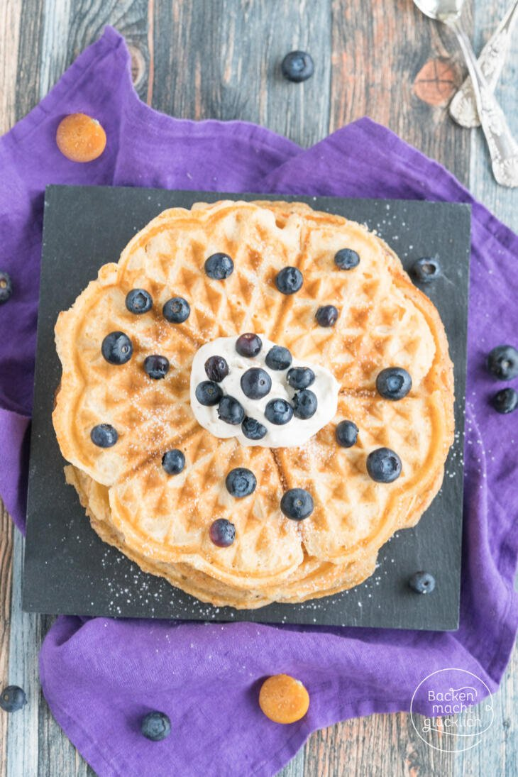 Low Carb Waffeln ohne Proteinpulver