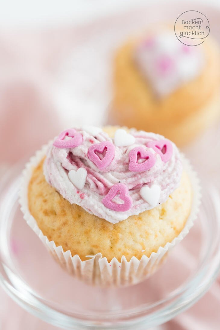 Valentinstag Muffins backen
