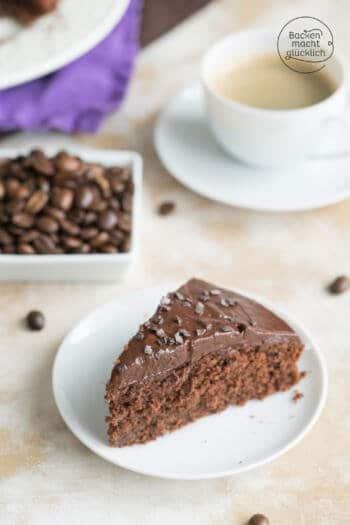 Haselnuss Kaffee Kuchen