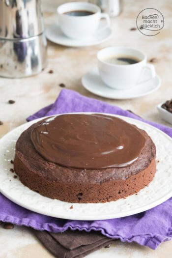 Kaffee-Schoko-Kuchen