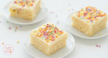 Konfetti-Kuchen Funfetti-Kuchen