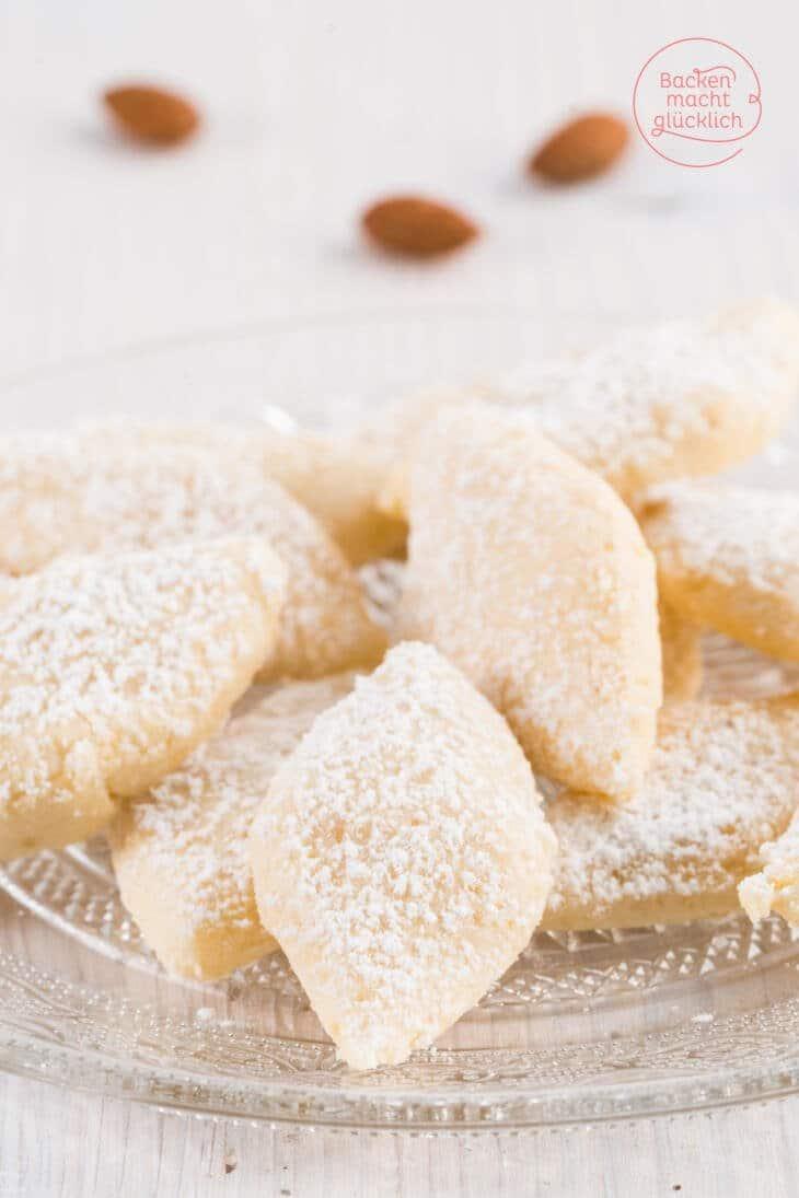 Ricciarelli italienische Mandelkekse
