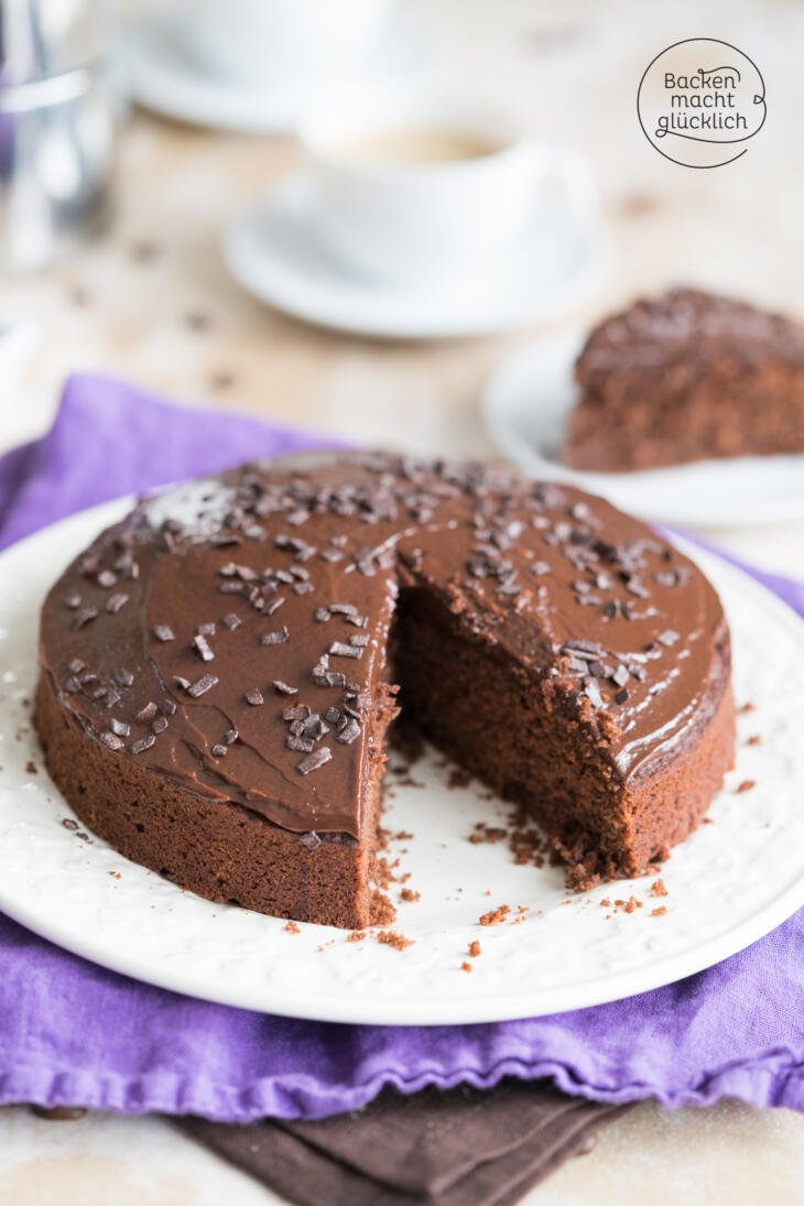 Saftiger Schoko Kaffee Kuchen Backen Macht Glucklich