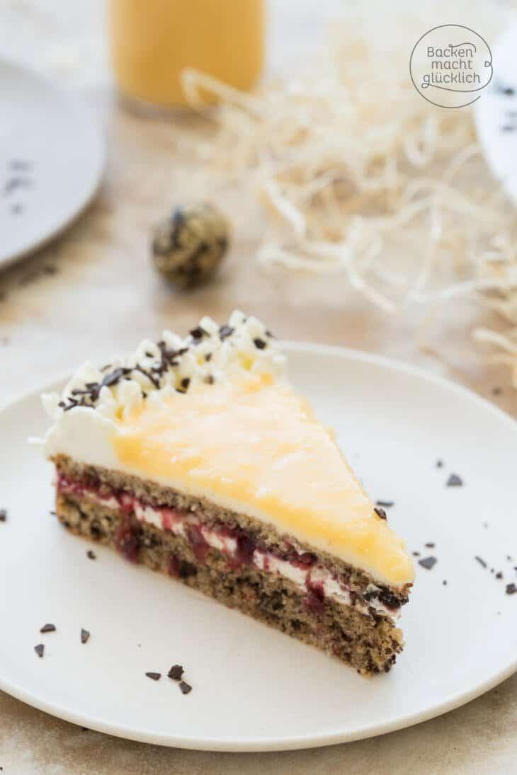 Preiselbeer Eierlikör Torte