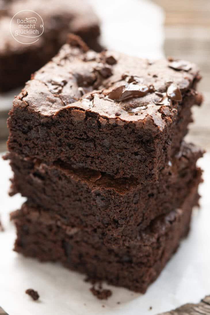 Brownies Rezept einfach saftig