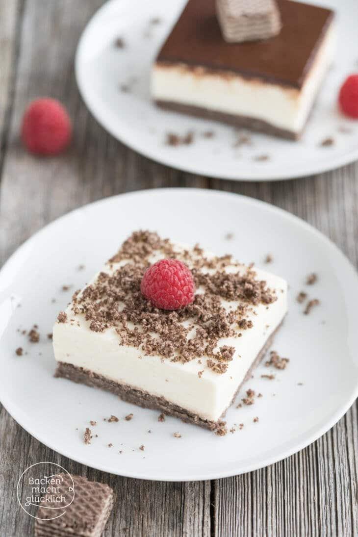 No Bake Cheesecake Schokoboden