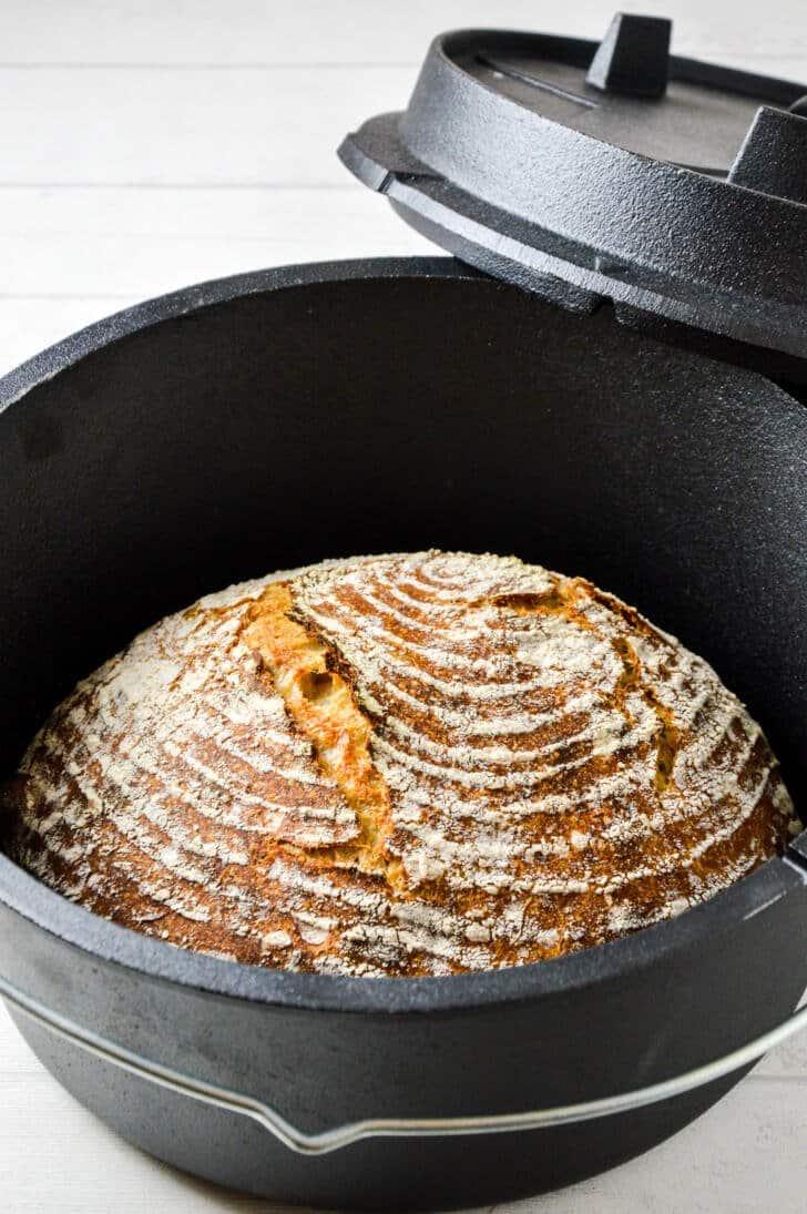 Dinkel-Sauerteig Brot Rezept