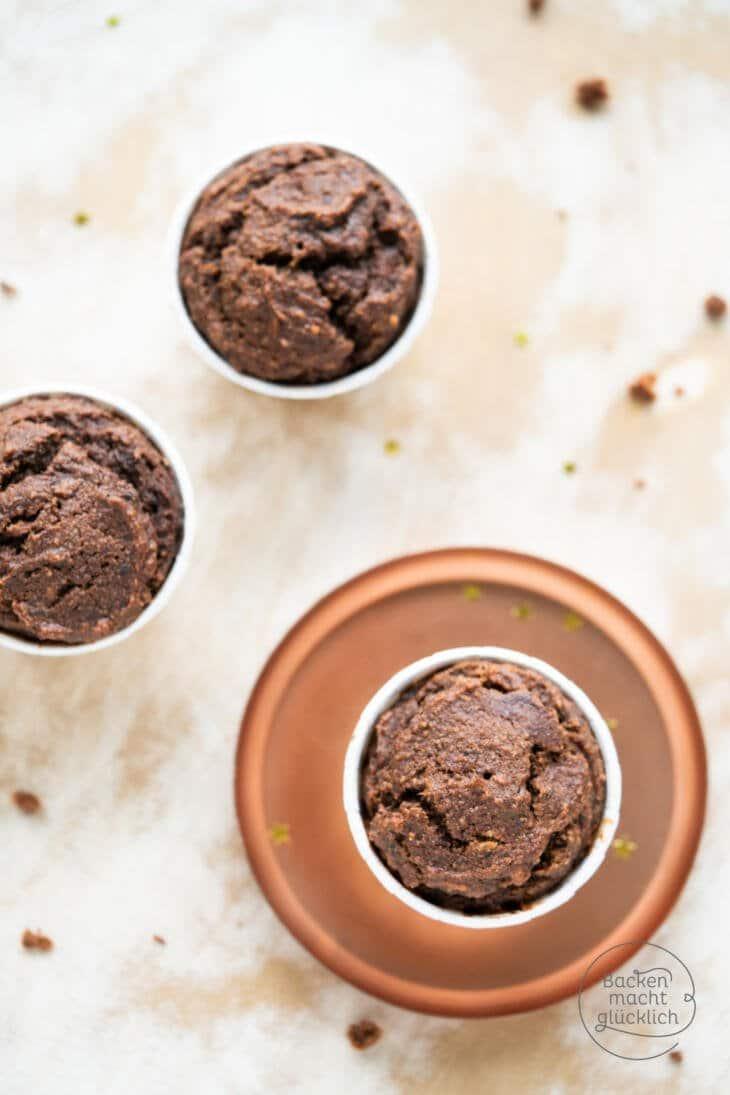 Dattelmuffins mit Schokolade
