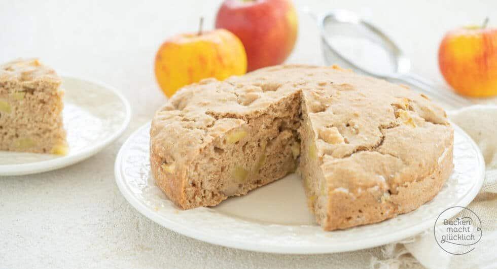 Apfelkuchen ohne Butter Ei Zucker