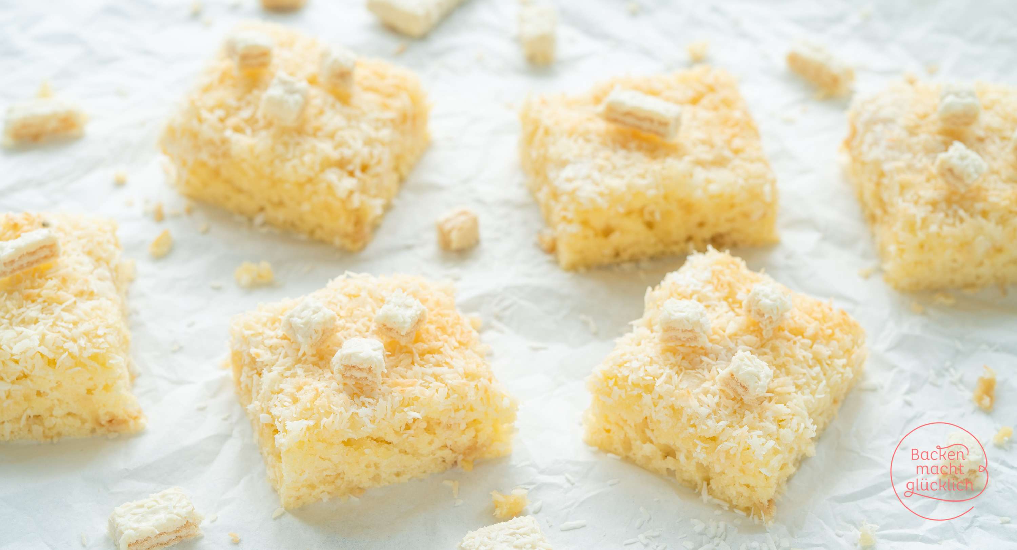 Saftiger Buttermilch Kokos Kuchen Backen Macht Glucklich