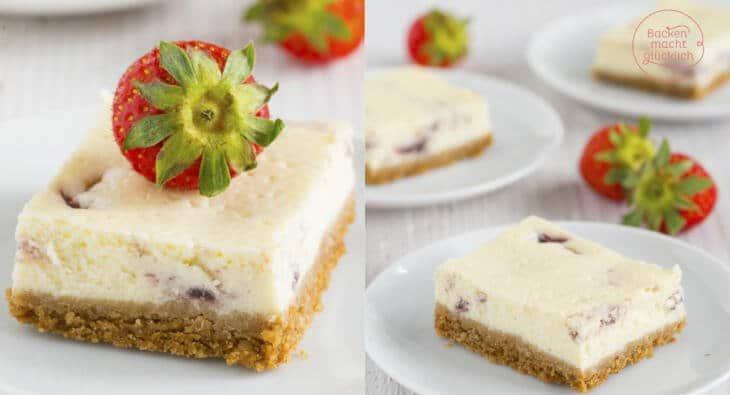 fettarmer kalorienarmer Cheesecake
