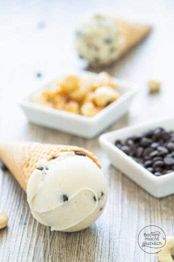 Veganes Vanilleeis selbermachen