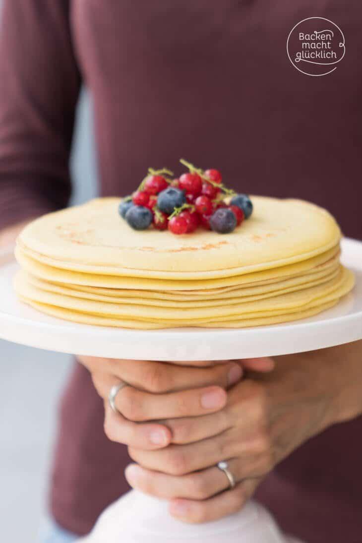 Einfacher Pfannkuchenteig rezept