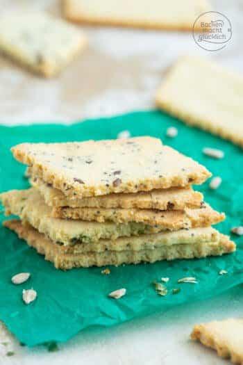 Gesunde glutenfreie Cracker