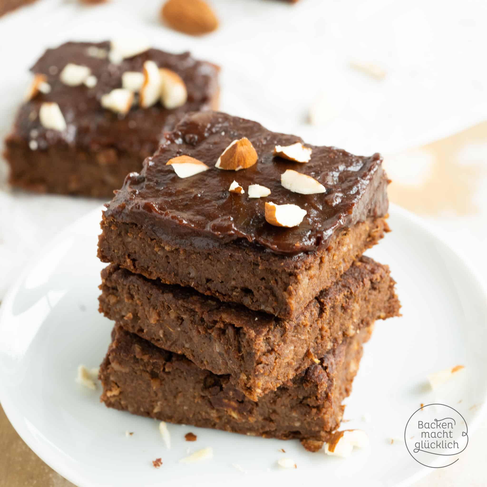 gesunde vegane Süßkartoffel-Brownies
