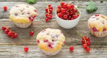 Johannisbeer-Joghurt-Muffins