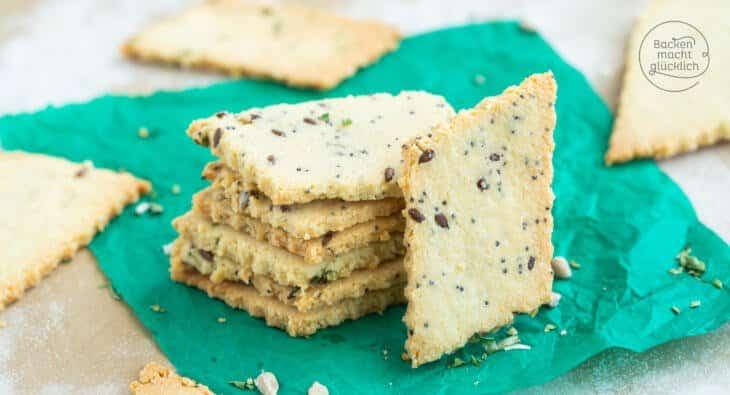 Low Carb cracker Rezept