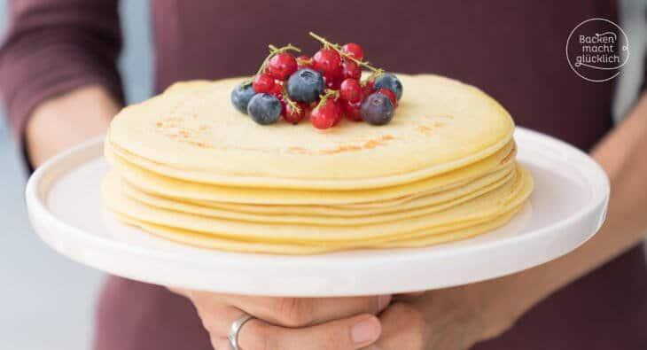 Pfannkuchen Grundrezept
