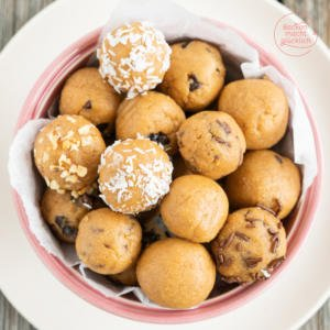 Protein Balls mit Erdnussbutter