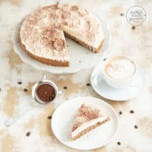 Tiramisu Torte mit Mascarpone ohne Alkohol