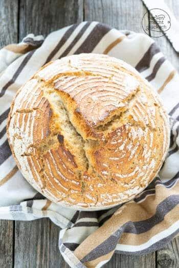 Weizenbrot mit Sauerteig Rezept