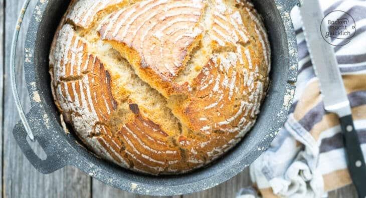 Weizen-Sauerteig-Brot ohne Hefe