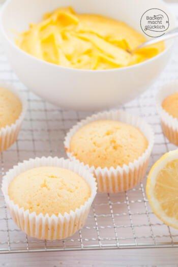 Zitronencupcakes Rezept