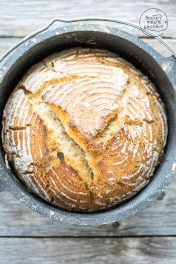 einfaches Weizen Sauerteig Brot Rezept