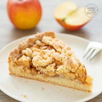 Apfel Streusel Kuchen Mürbteig