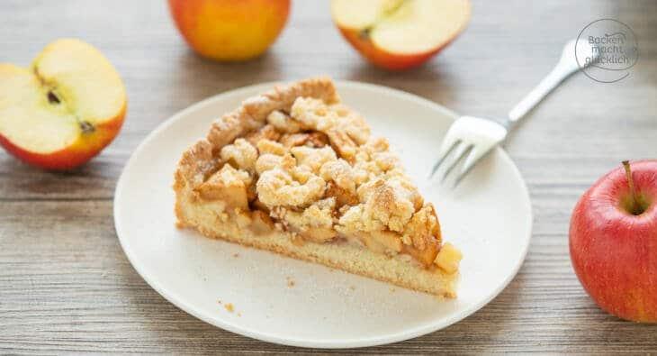 Apfelkuchen Rezept mit Streuseln
