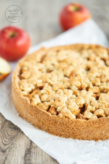Bester Apfelkuchen mit Streuseln