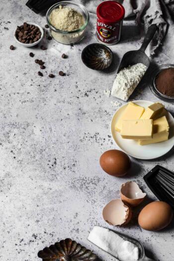 Madeleine Rezept Schokolade