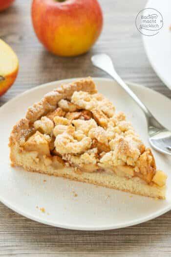 Omas Apfelkuchen Streusel