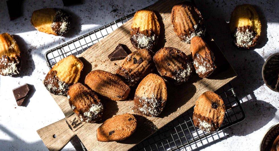 Schokoladen Madeleines