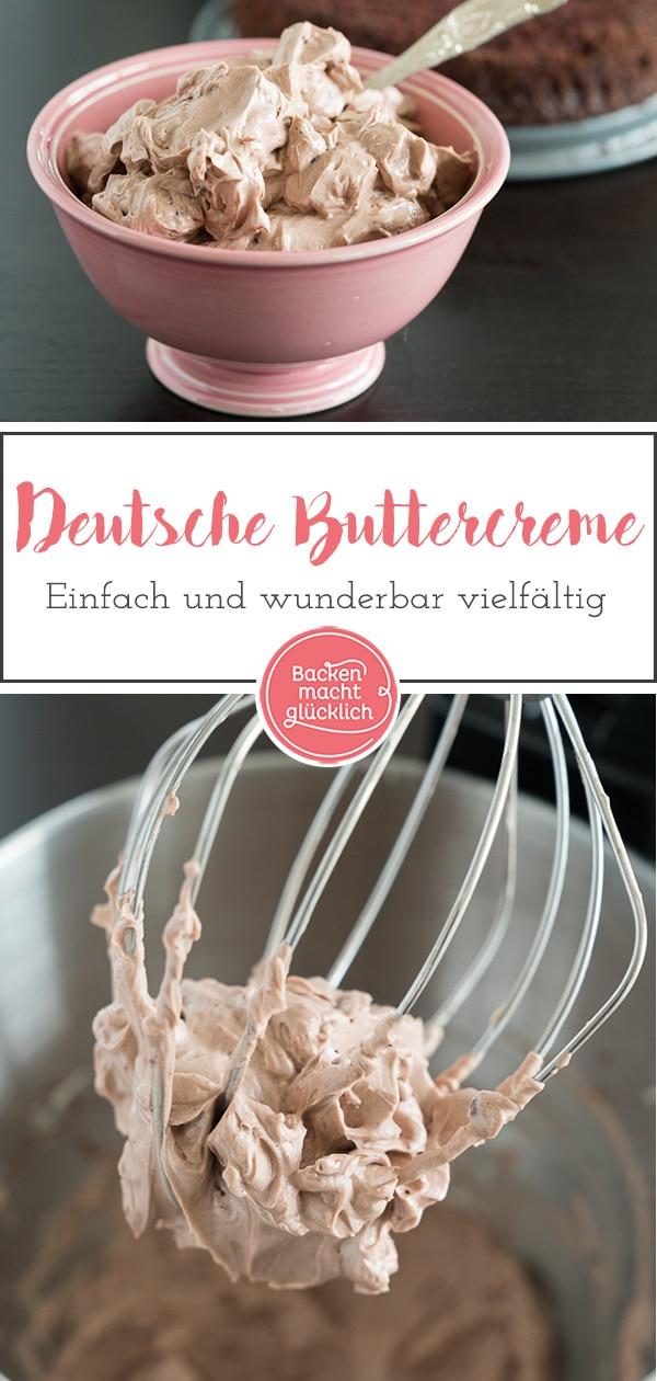 Einfache Buttercreme Grundrezept Backen Macht Glucklich